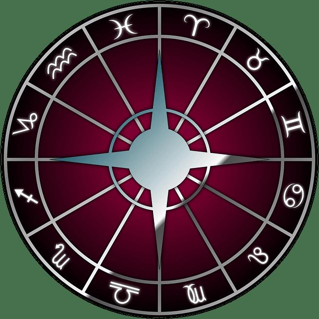 12星座の円盤イラスト
